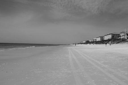 panama city beach: Una veduta del Golfo del Messico da Panama City Beach, FL
