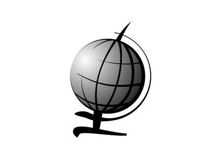 globus: Grey Globus icon