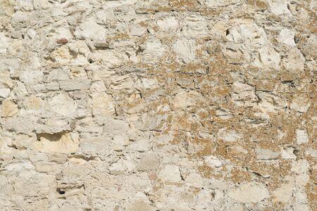 byzantium: Background of old vintage Byzantium wall Stock Photo