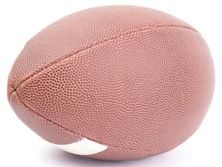 ball isolated: american football ball. isolated on white background. Stock Photo
