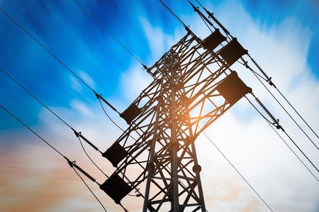 megawatt: High voltage post or High voltage tower