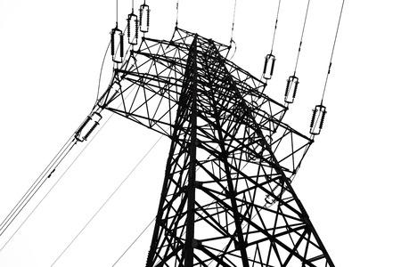 Power Transmission Torre Foto de archivo - 50956162