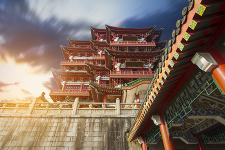 teng: Chinese ancient architecture, ancient religious Editorial