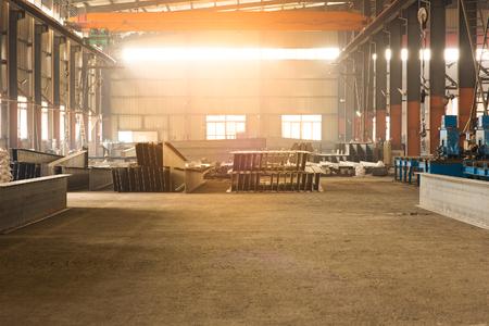 Iron workshop in shipyard. Editorial