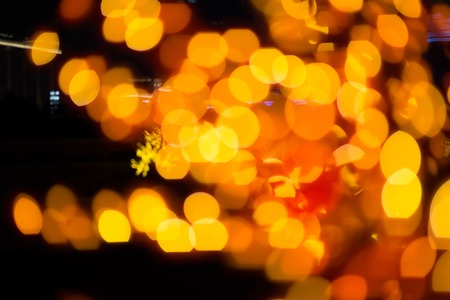 glow pyrotechnics: abstract colorful defocused circular facula,abstract background