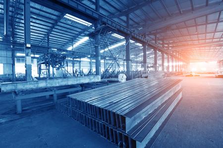 La producción de acero en la planta metalúrgica Foto de archivo - 60519034