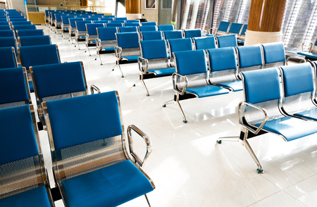 seating area: A picture of a brand new departure lounge at the airport Editorial