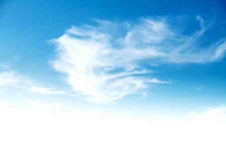 defocus: Cloudy blue sky abstract background Stock Photo