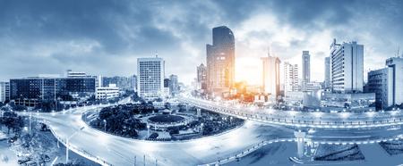 Stadt scape der Nanchang China Standard-Bild