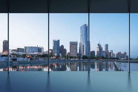 Vista della città dell'ufficio di Manhattan