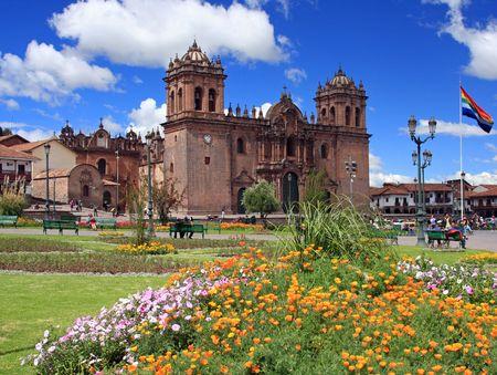 ペルーのクスコの大聖堂