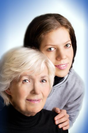belonging: Two generations of a family
