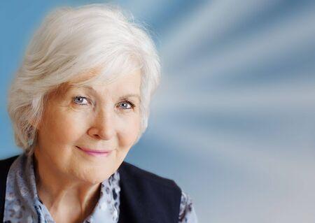 Senior woman portrait Stock Photo - 2683561