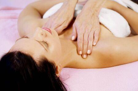 Woman gets massage Stock Photo - 5274538