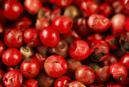 close up of red peppercorns Stock Photo - 8278855