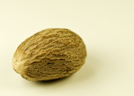 whole nutmeg  Stock Photo - 8348743