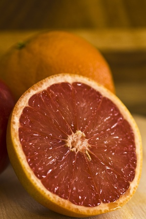 red grapefruit Stock Photo