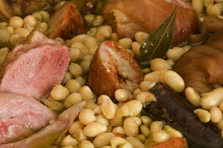 Azorean bean stew