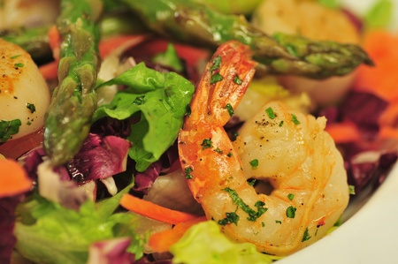 shrimp salad horizontal