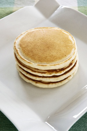 Pancake stack Stock Photo