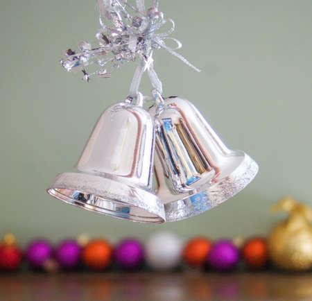 jingle bells: Jingle bells - Christmas ad New Years decorations
