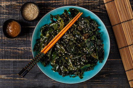 wakame foto royalty free, immagini, immagini e archivi fotografici - Alghe In Cucina