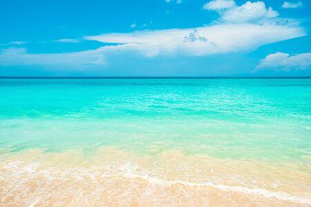 Sea shore background, copy space.