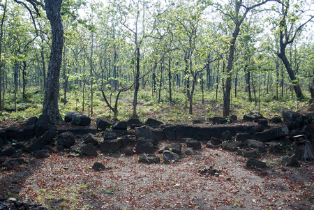 Koh Ker is a remote archaeological site in northern Cambodia about 120 kilometres (75 mi) away from Siem Reap