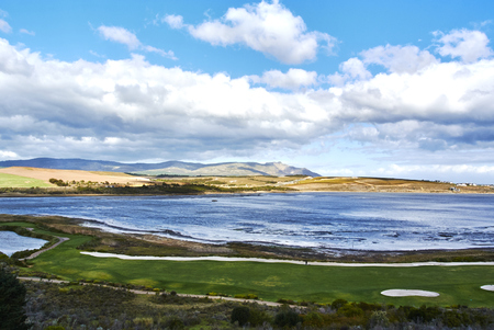 overlooks a spectacularly attractive natural lagoon, surrounded by a lush landscape. The hotel boasts a 18-hole golf course