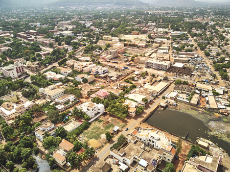 Bamako is the capital and largest city of Mali, with a population of 1.8 million. Banque d'images - 103028723