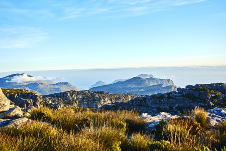 Table Mountain National Park, previously known as the Cape Peninsula National Park, is a national park in Cape Town, South Africa. Banque d'images - 105597328