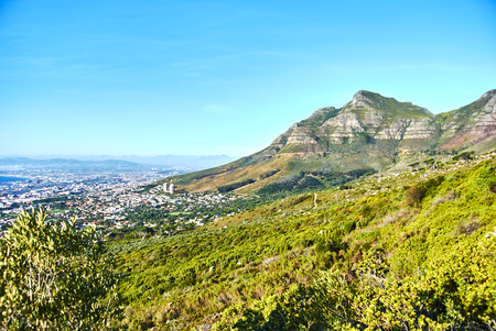 Table Mountain National Park, previously known as the Cape Peninsula National Park, is a national park in Cape Town, South Africa. Banque d'images - 105597497