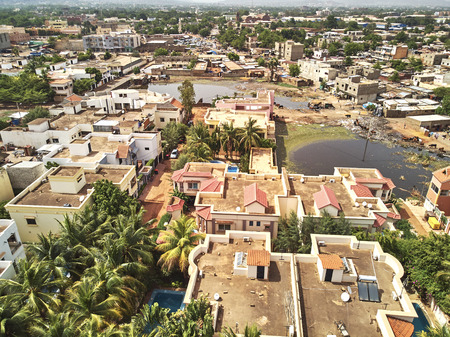 Bamako is the capital and largest city of Mali, with a population of 1.8 million. Banque d'images - 103029412