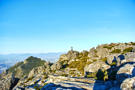 Table Mountain National Park, previously known as the Cape Peninsula National Park, is a national park in Cape Town, South Africa Banque d'images - 103029415
