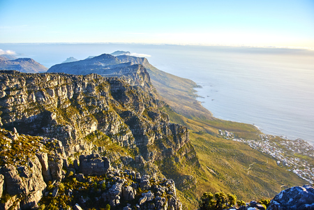 Table Mountain National Park, previously known as the Cape Peninsula National Park, is a national park in Cape Town, South Africa. Banque d'images - 106000073