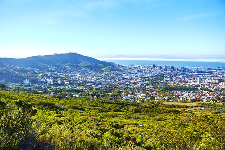 Table Mountain National Park, previously known as the Cape Peninsula National Park, is a national park in Cape Town, South Africa. Banque d'images - 105813710