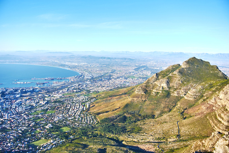Table Mountain National Park, previously known as the Cape Peninsula National Park, is a national park in Cape Town, South Africa Banque d'images - 103028608