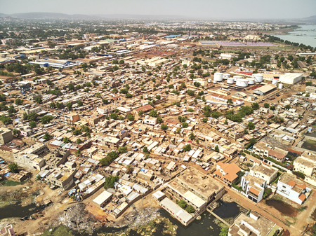 Bamako is the capital and largest city of Mali, with a population of 1.8 million. Banque d'images - 103028609