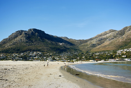 Hout Bay (Afrikaans: Houtbaai, meaning Wood Bay) is a town near Cape Town, South Africa