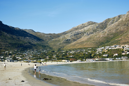 Hout Bay (Afrikaans: Houtbaai, meaning