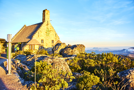 Table Mountain National Park, previously known as the Cape Peninsula National Park, is a national park in Cape Town, South Africa. Banque d'images - 106039931