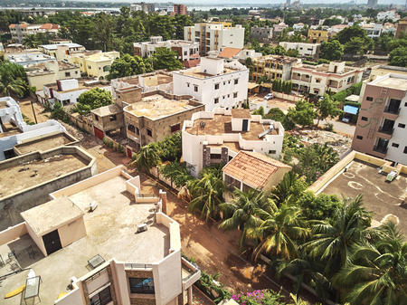 Bamako is the capital and largest city of Mali. Banque d'images - 106074948