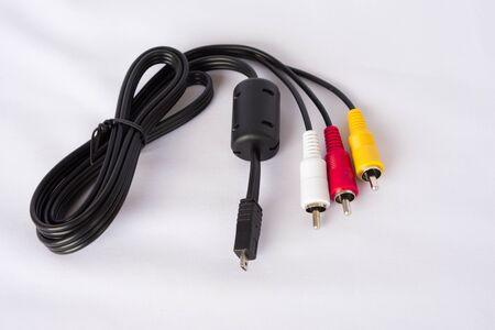 AV wire cable picture and audio photo