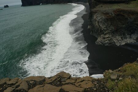 Beach closed to visitors due to dangerous waves Iceland