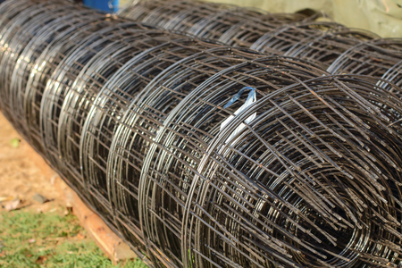 construction mesh: Steel Wire Mesh construction . Structural steel and cement