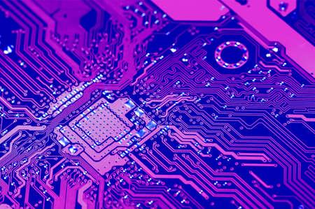 closeup: Closeup electronic circuit board dirty. Stock Photo