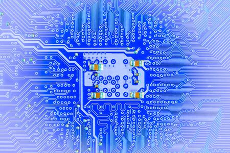 electronic background: Closeup electronic circuit board background,