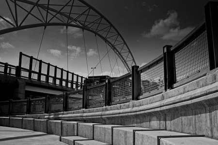 foot bridge: Foot Bridge in Denver