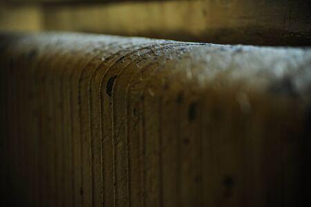 Closeup of steam radiator Imagens