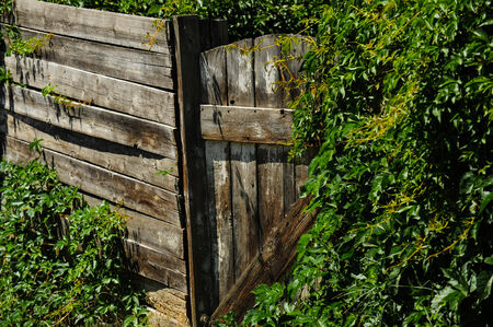 Weathered Gate Imagens